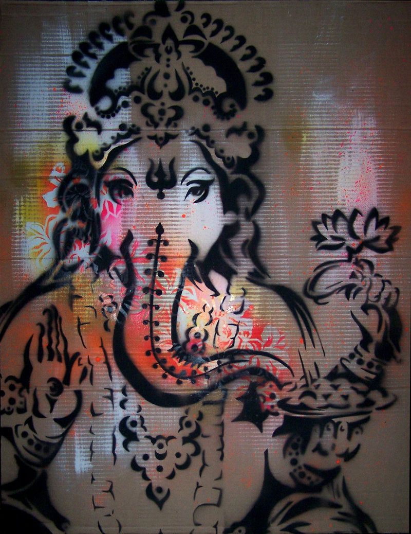 ganesh 1 by lizzylindsay on DeviantArt