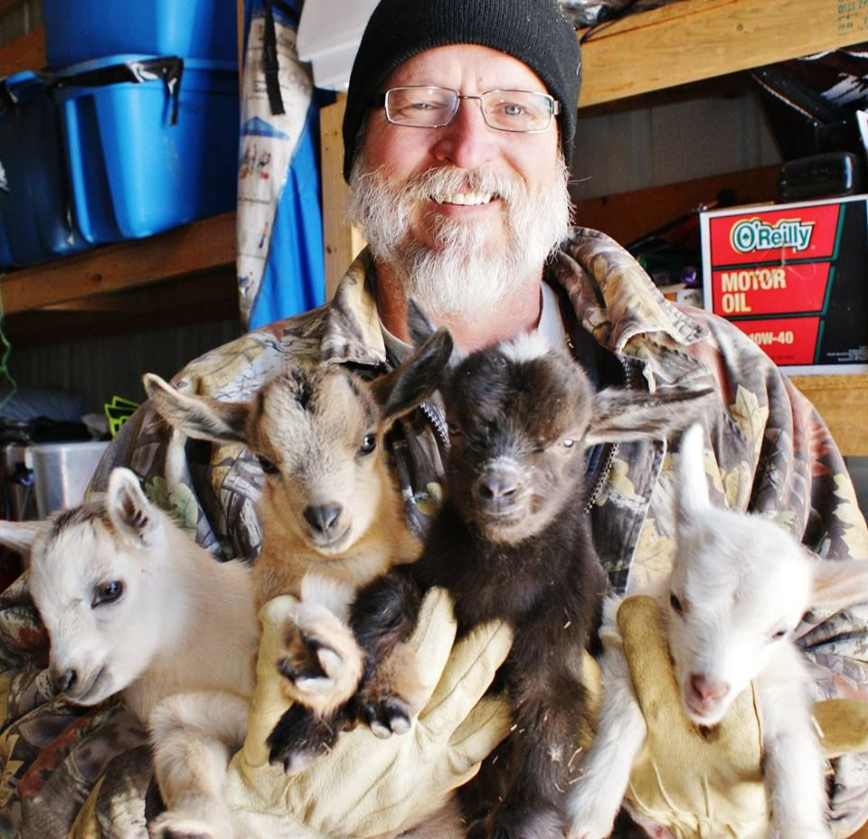 A valentine's day bouquet of baby goats =) Sounds like a gift for me