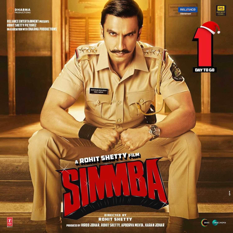 Simmba In 2020 Ranveer Singh Movie Info Rohit Shetty