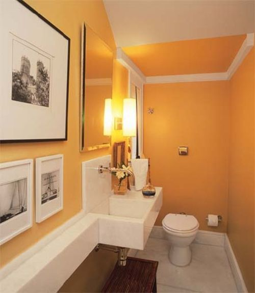 baño-visita-pequeño Sala de estar Pinterest Baño, Pequeños y - diseos de baos