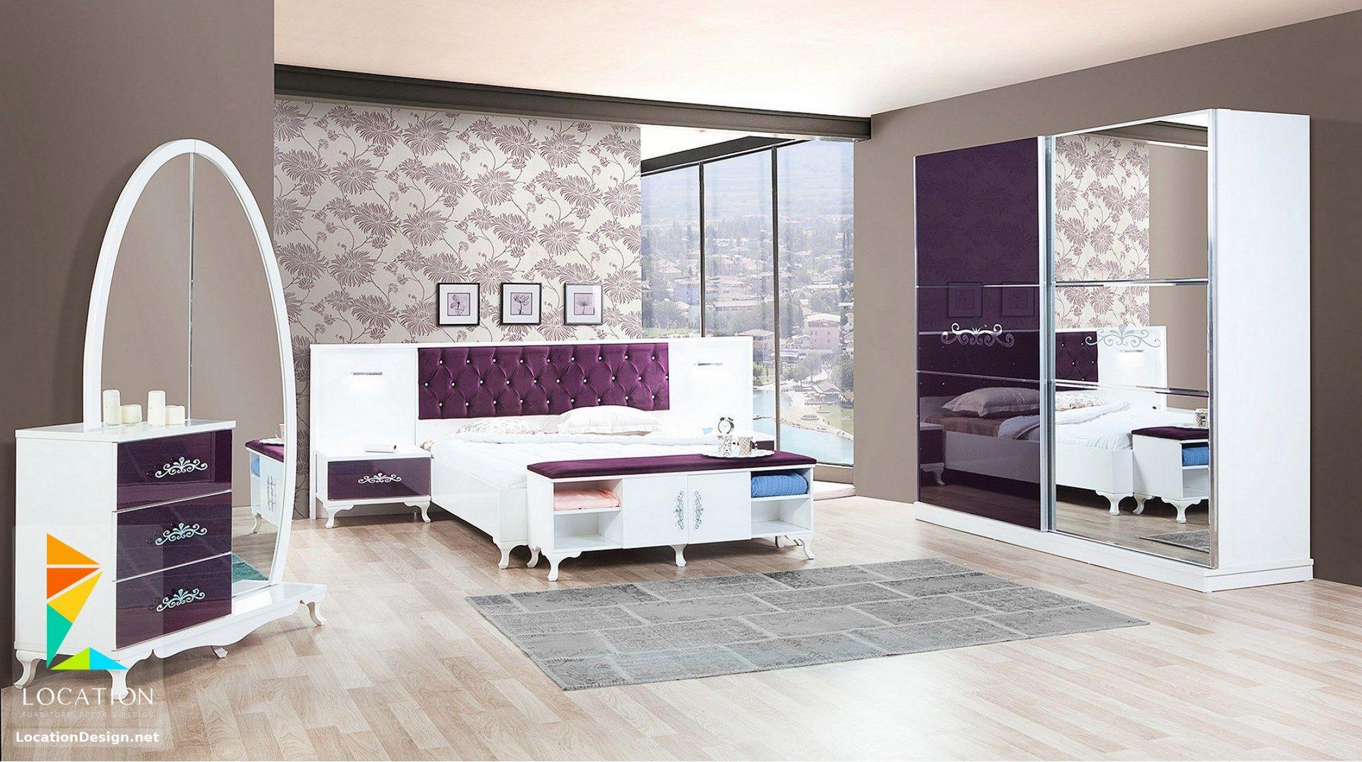 غرف نوم كامله من اجمل موديلات غرف نوم عرايس مودرن 2019 Bedroom Bed Design Comfy Living Room Design Simple Bedroom Design