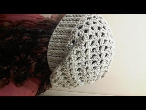 Gorro de Crochê Max 4 - passo a passo - Professora Simone Eleotério -  YouTube 517d479d18d