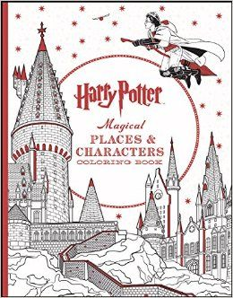 Harry Potter Magical Places Characters Coloring Book Scholastic 9781338030013 Amazon Books