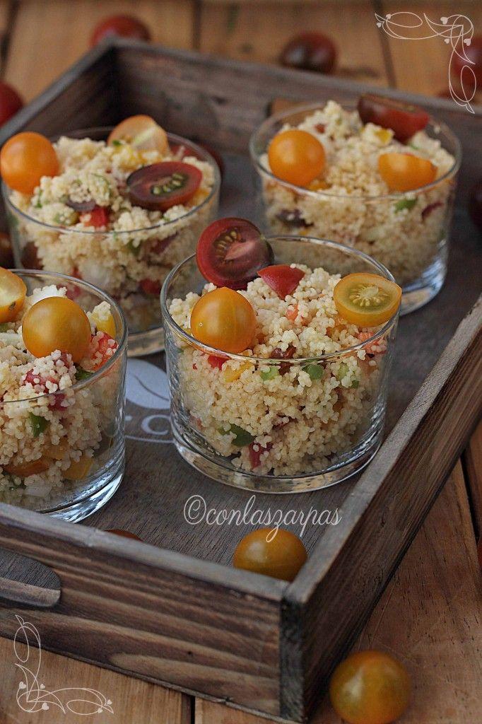 Me encanta el taboul o ensalada de cus cus la verdad es for Como se cocina la quinoa para ensalada