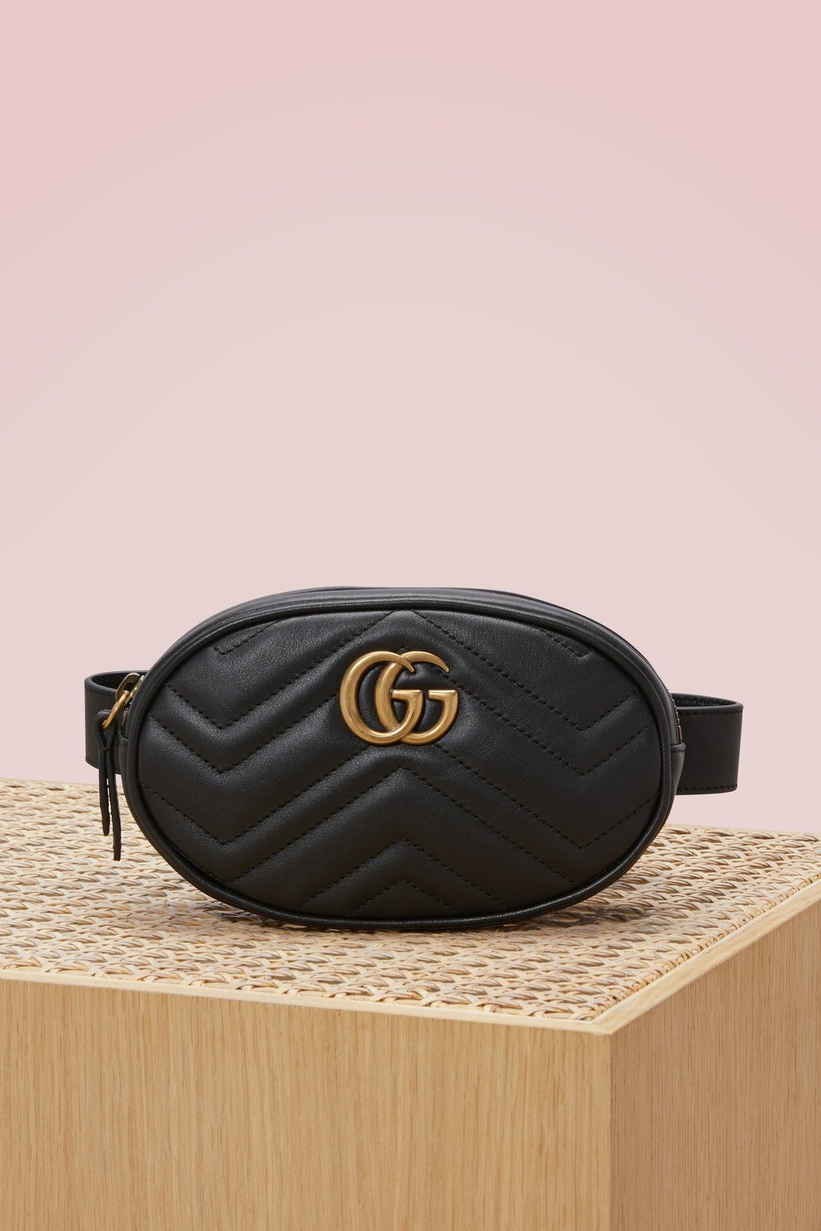 GUCCI GG Marmont matelassé leather belt bag.  gucci  bags  leather  belt e82afab7b36