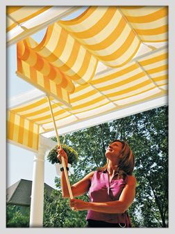 Retractable Deck And Patio Canopies Shades Awnings House Doctors Is The Handyman You Can Trust To Install Repair