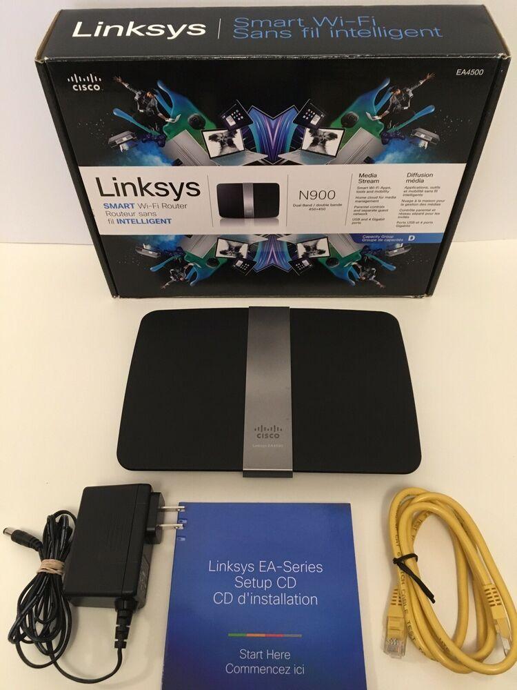 Linksys Ea Series Setup