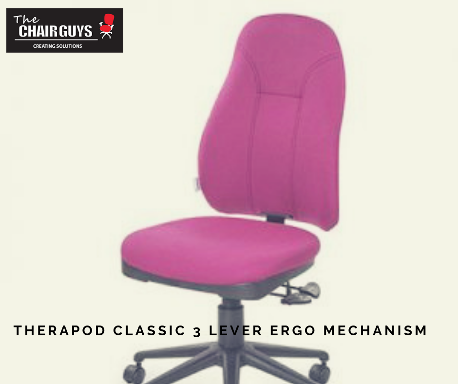 Therapod Classic 3 Lever Ergo Mechanism Chair Classic Office Chair