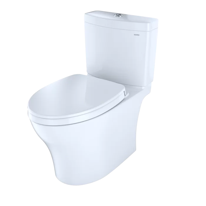 Aquia Iv Dual Flush Elongated Two Piece Toilet With Cefiontect Seat Not Included Toto Toilet Toto Toilet