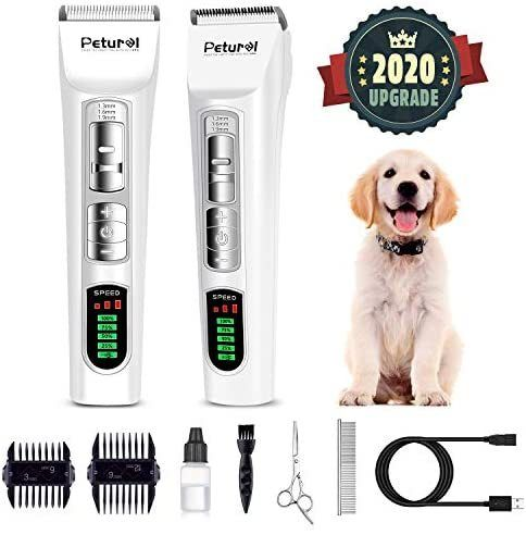 Dog Clippers Professional Dog Shaver Clippers Dog Grooming Clippers Pet Trimmers Clippers Quiet Pet Clippers Do In 2020 Dog Grooming Clippers Dog Grooming Grooming Kit