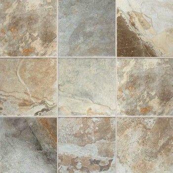 american olean kendal slate 12 x 12 easdale neutral floor tile - Bathroom Tiles Kendal
