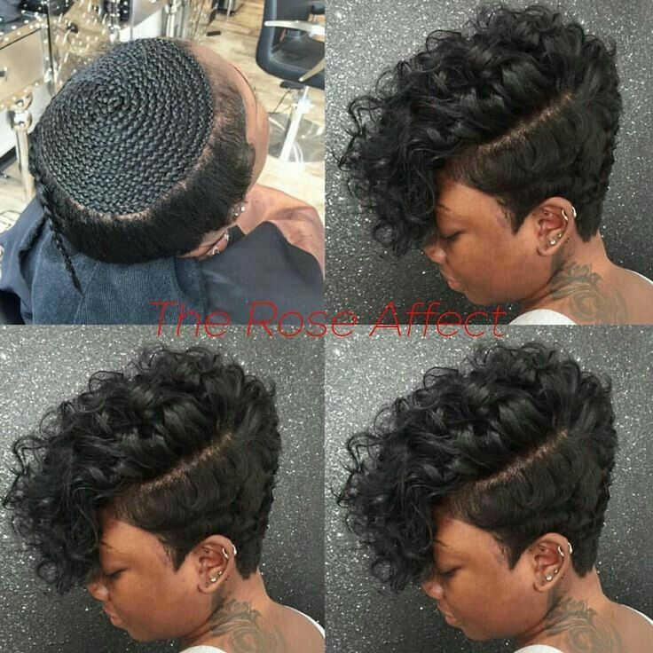 Pin By Bertille Mezui On Tresses Twist Crochet Braids Greffe Natte Coupe Courte Coiffures Sassy Hair Short Hair Styles Short Natural Hair Styles