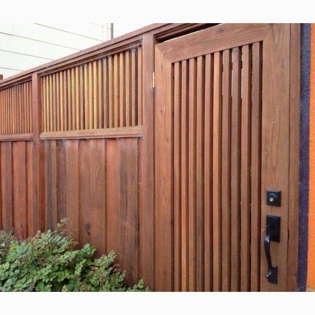 Fence - Bottom Half Corrugated Iron