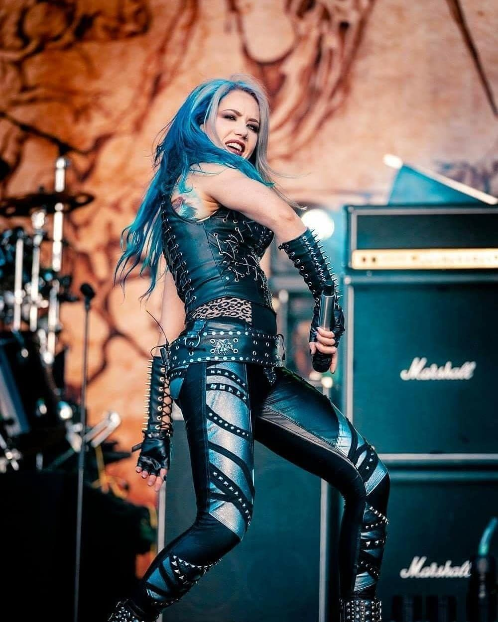 Alissa White Gluz On Instagram Repost From