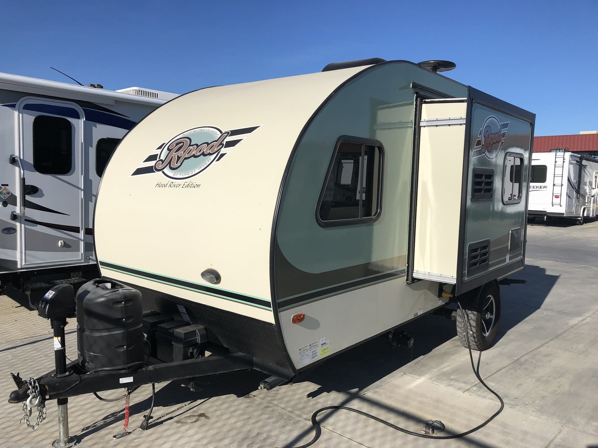 Barely Used 2017 Forest River Rpod 178 Travel Trailers For Sale