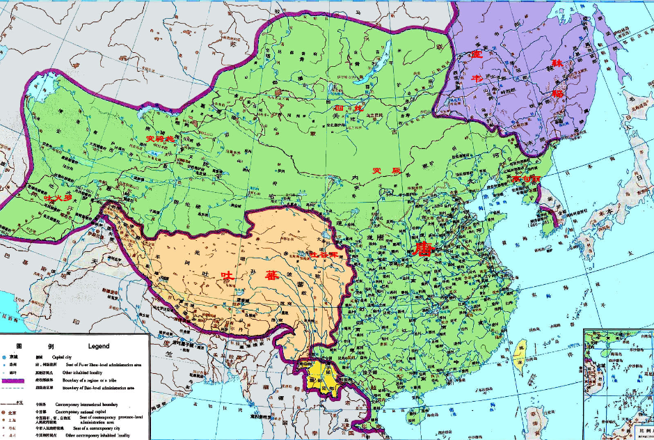 Tang dynasty green at its greatest extent the tang empire is tang dynasty green at its greatest extent the tang empire is the second sciox Choice Image
