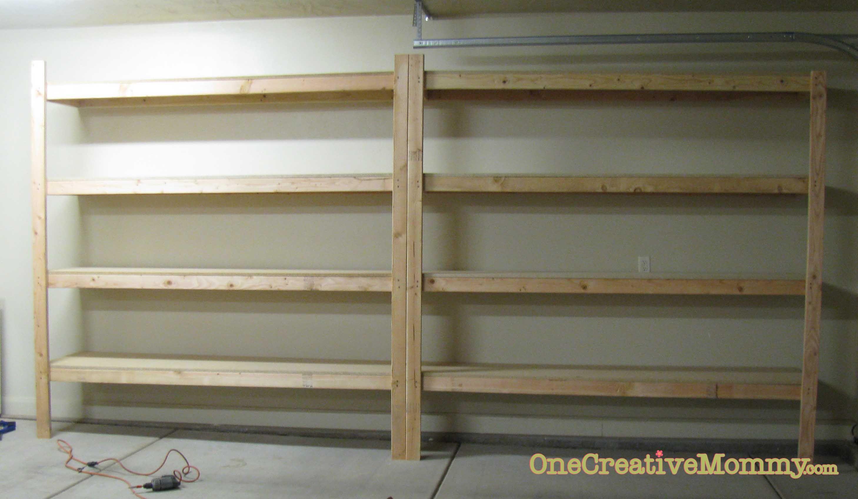 Storage Garage Near Me Organize Me #5 Garage Makeover And Storage Shelves  Garage