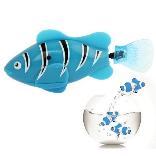 Pin By Patric Z On Patty Ideas Robo Fish Pet Fish Toys Gift