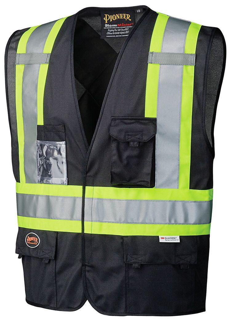 135 HiViz Safety Vest Shopping, Vest, Tricot