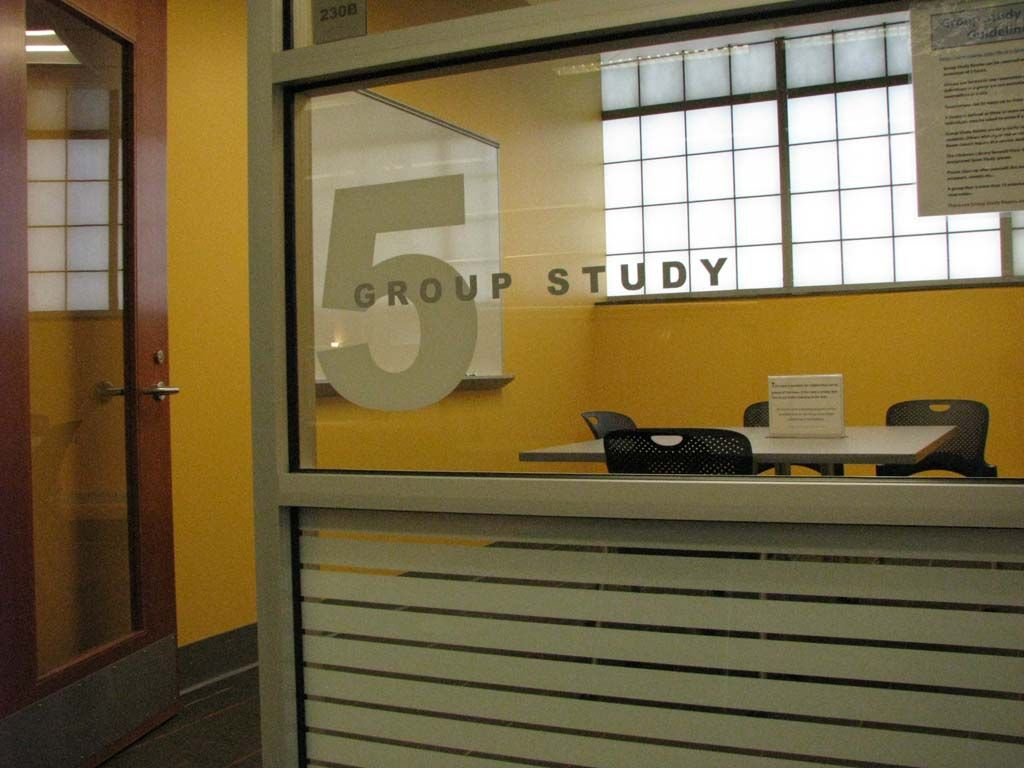 Glickman Library Group Study Rooms