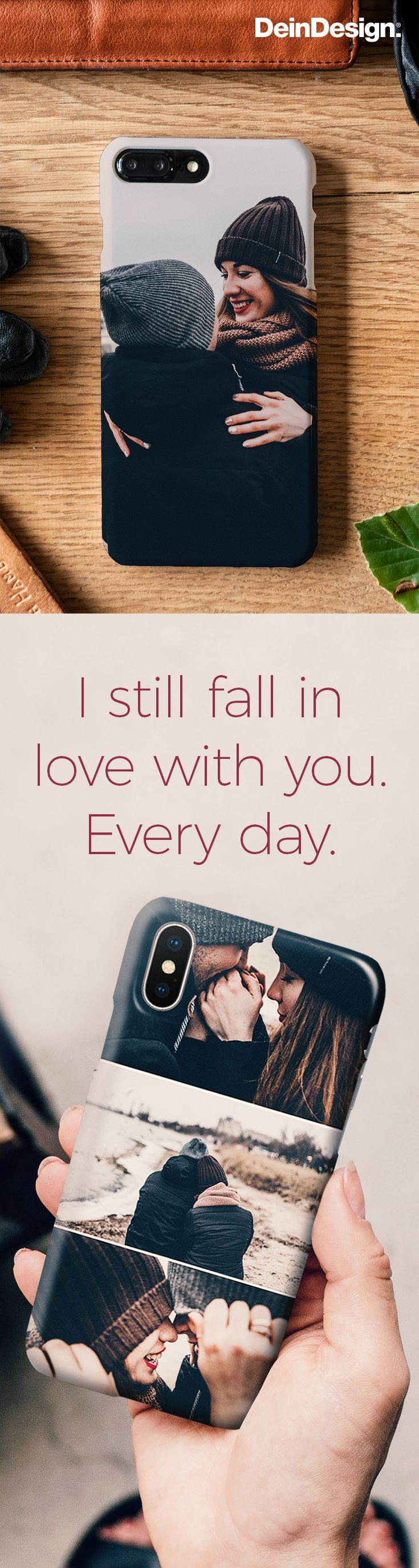 I still fall in Love with you. every day. / Love Quote / Zitat ...
