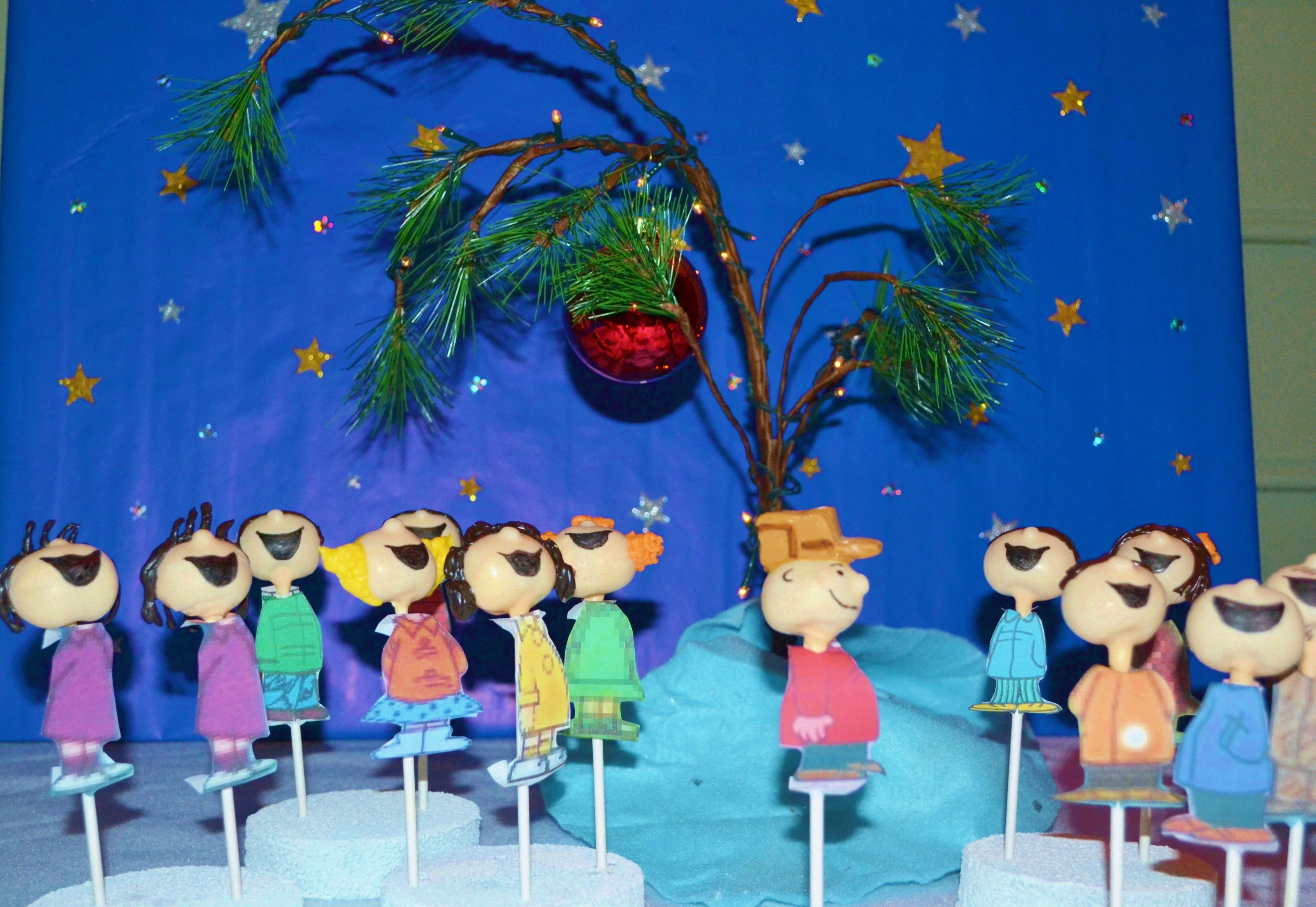 final scene of a charlie brown christmas made for a christmas party - When Was Charlie Brown Christmas Made
