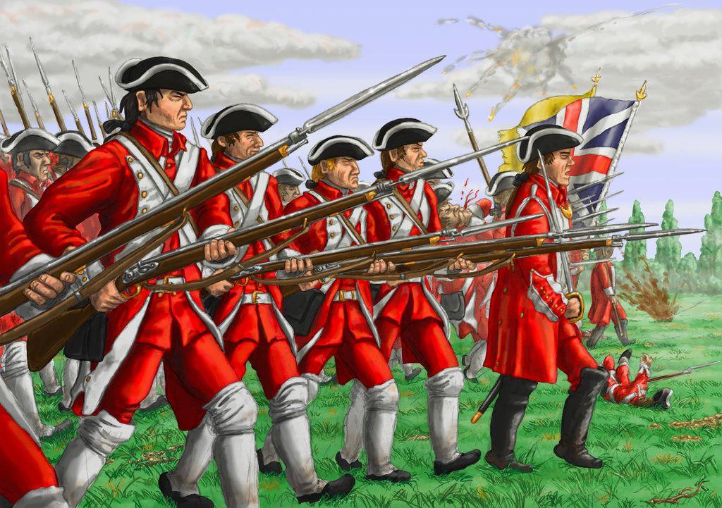 Redcoats advance! | Seven Years War Art | Pinterest | American ...