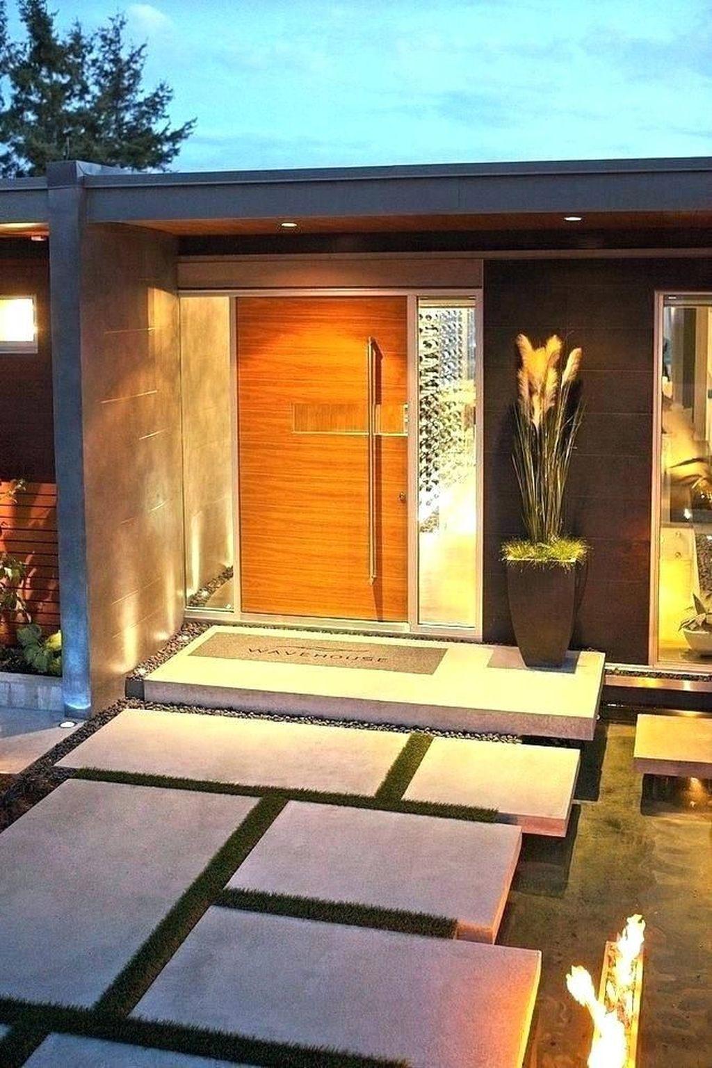32 The Best Modern Front Entrance Exterior Design Ideas Magzhouse Modern Exterior Doors Entrance Design Facade House