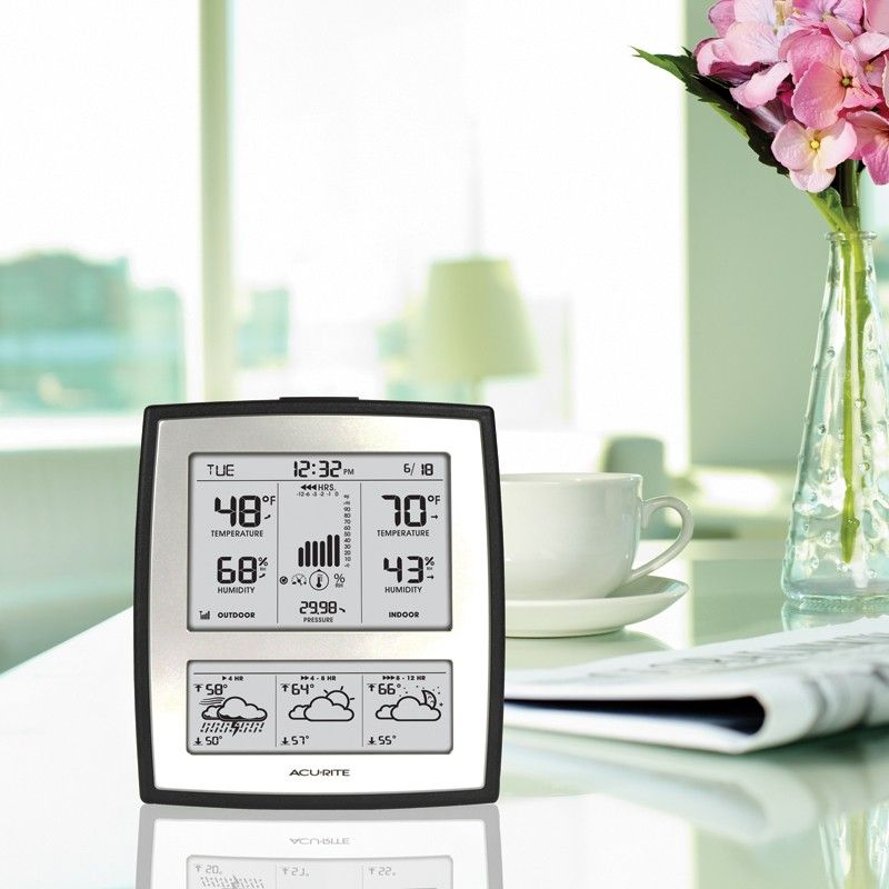 AcuRite 7 Digital Weather Station with Morning Noon Night