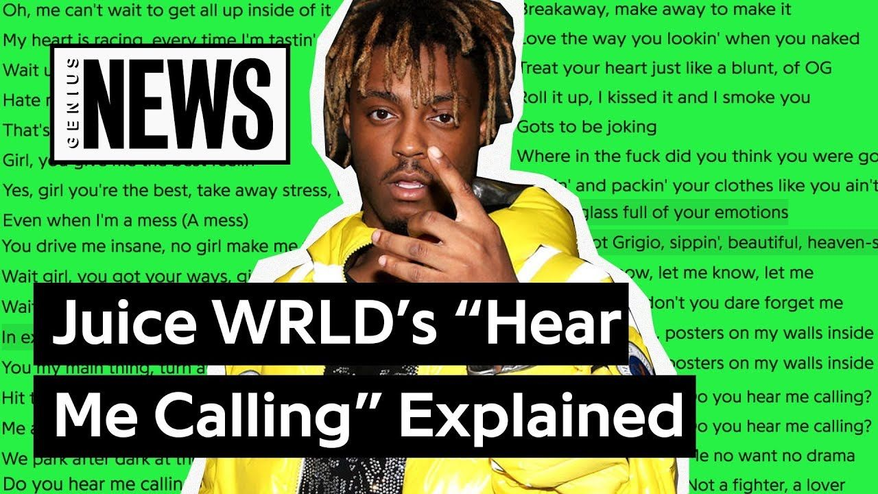 """Juice WRLD's """"Hear Me Calling"""" Explained Song Stories"""