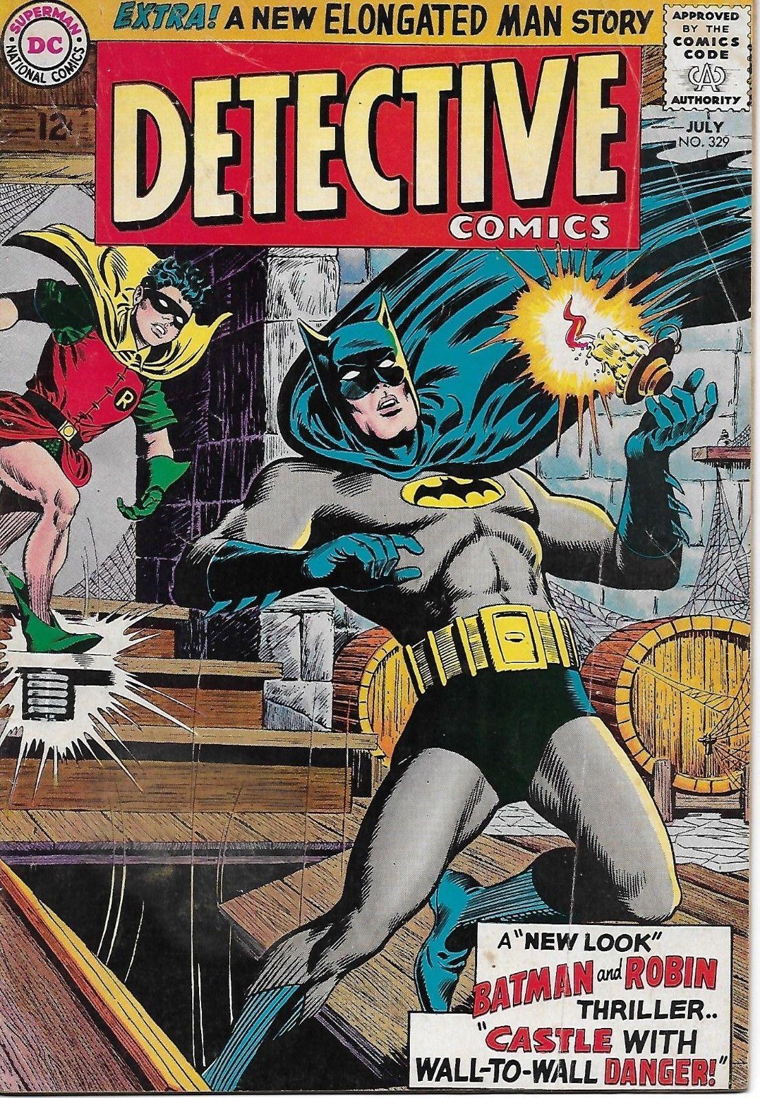 "Detective Comics #329 (Jul 1964, DC) BATMAN BLOWOUT! Silver Age 5.0 ""New  Look"": $9.99 (0 Bids) End Date: Friday Feb-23-2018 14:38:16 PST…"