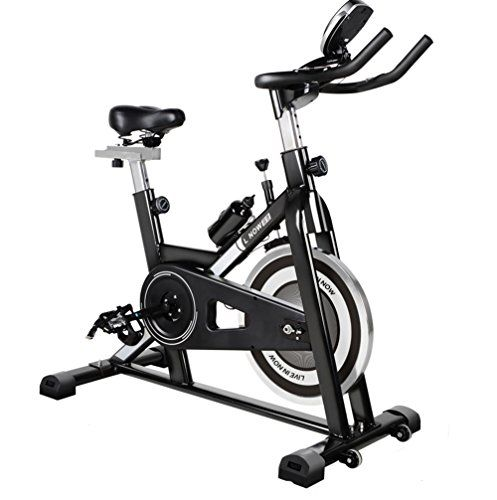 L Now Fitness Indoor Cycling Bike Indoor Stationary Trainer Exercise Bike Black 506 Biking Workout Indoor Cycling Bike Recumbent Bike Workout