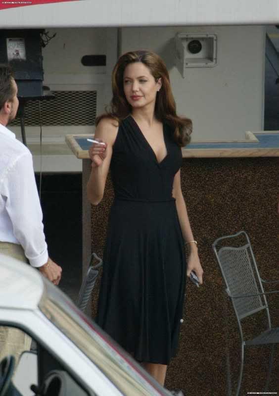 angelina jolie smoking - Google Search | Style | Angelina ...