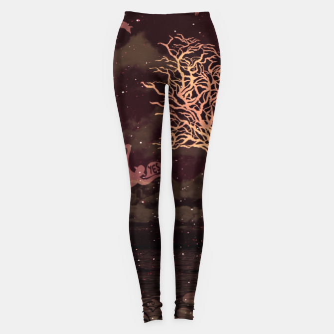 Infinite Love Now Stargazing Leggings Liveheroes By Bizzartino