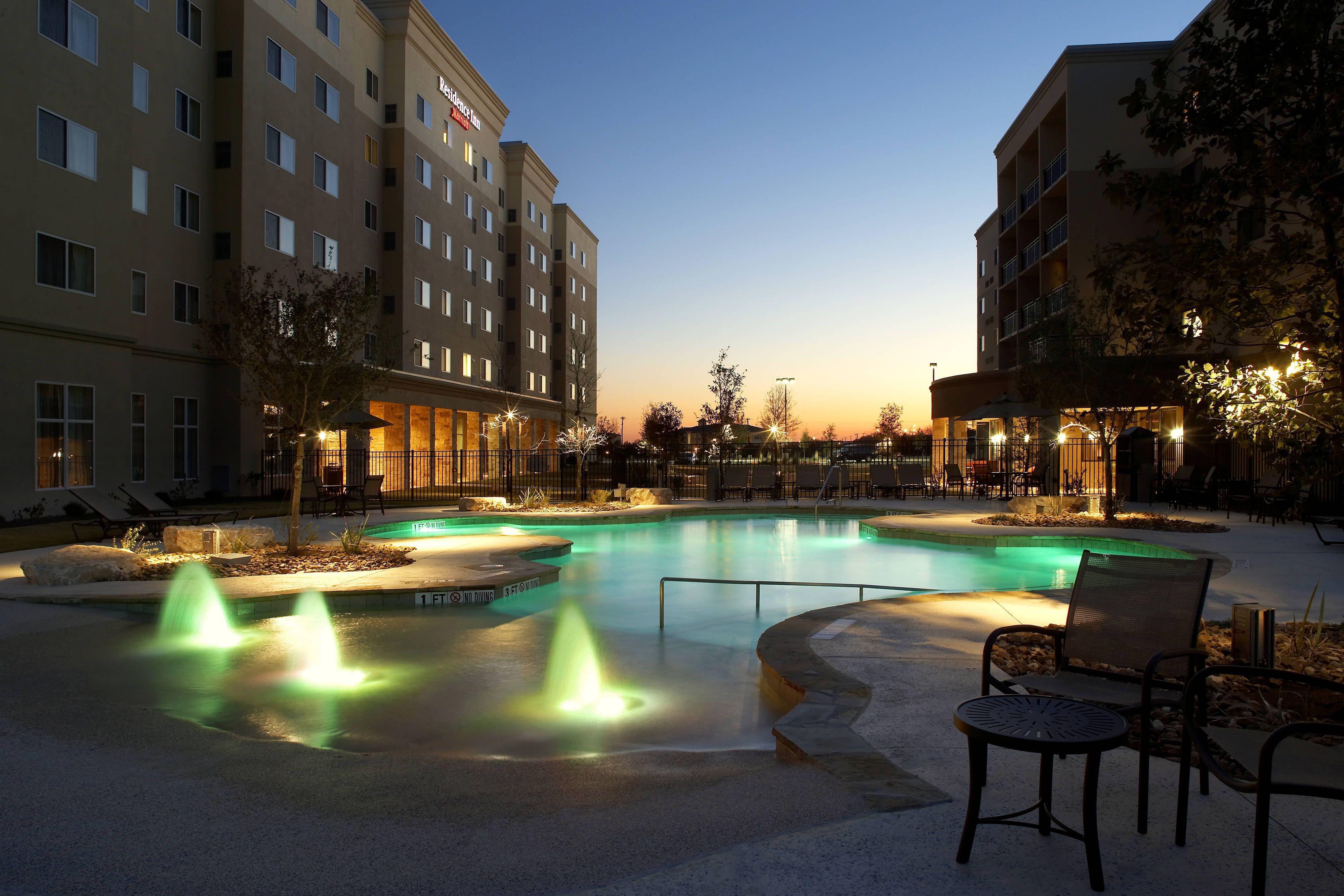 Residence Inn San Antonio Six Flags庐 At The Rim Outdoor Pool Happy Hotels Visiting