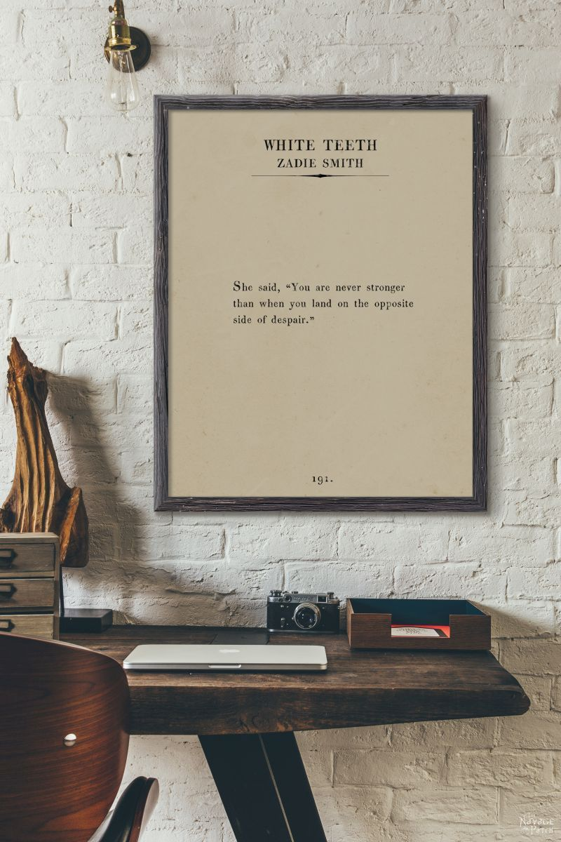 Oversize book page wall art women of the word free printable