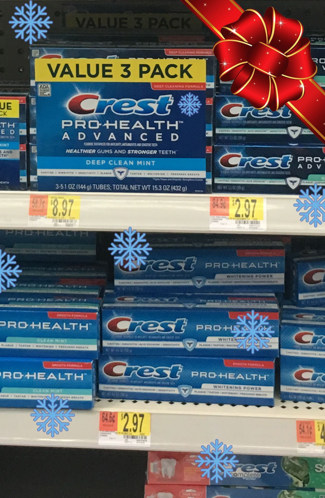 Crest Christmas Cookies Make The Holidays Bright Protect Your Teeth With Crest 2 00 Coupon For Walmart Tis Christmas Cookies Yummy Food Gum