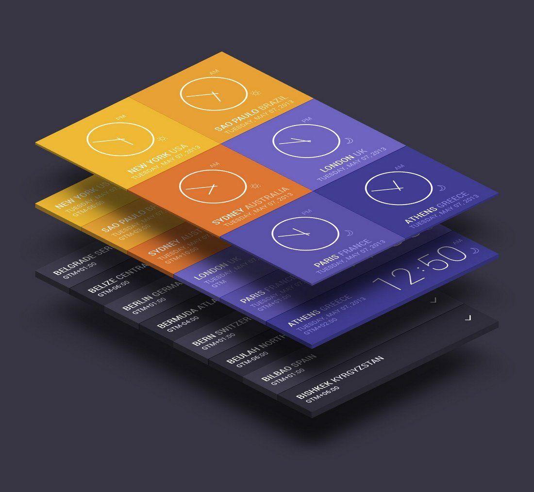 30 Best Isometric Mockup Templates App Interface Design Mockup Free Psd Mockup Templates
