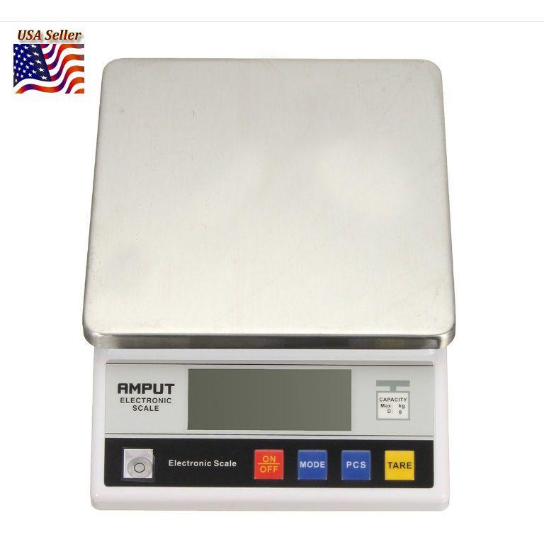 10kg 5 6 3kg X 0 1g Big Digital Electronic Food Balance Scale Lb