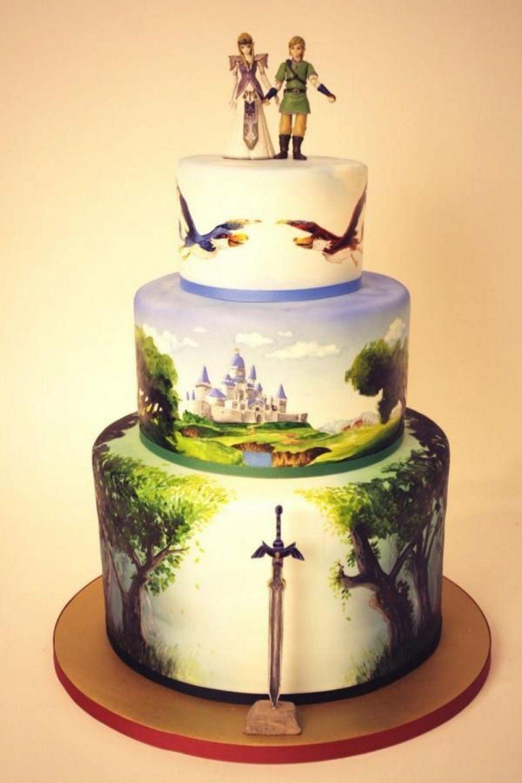 De superbes gâteaux de mariage qui raviront le grand enfant qui est ...