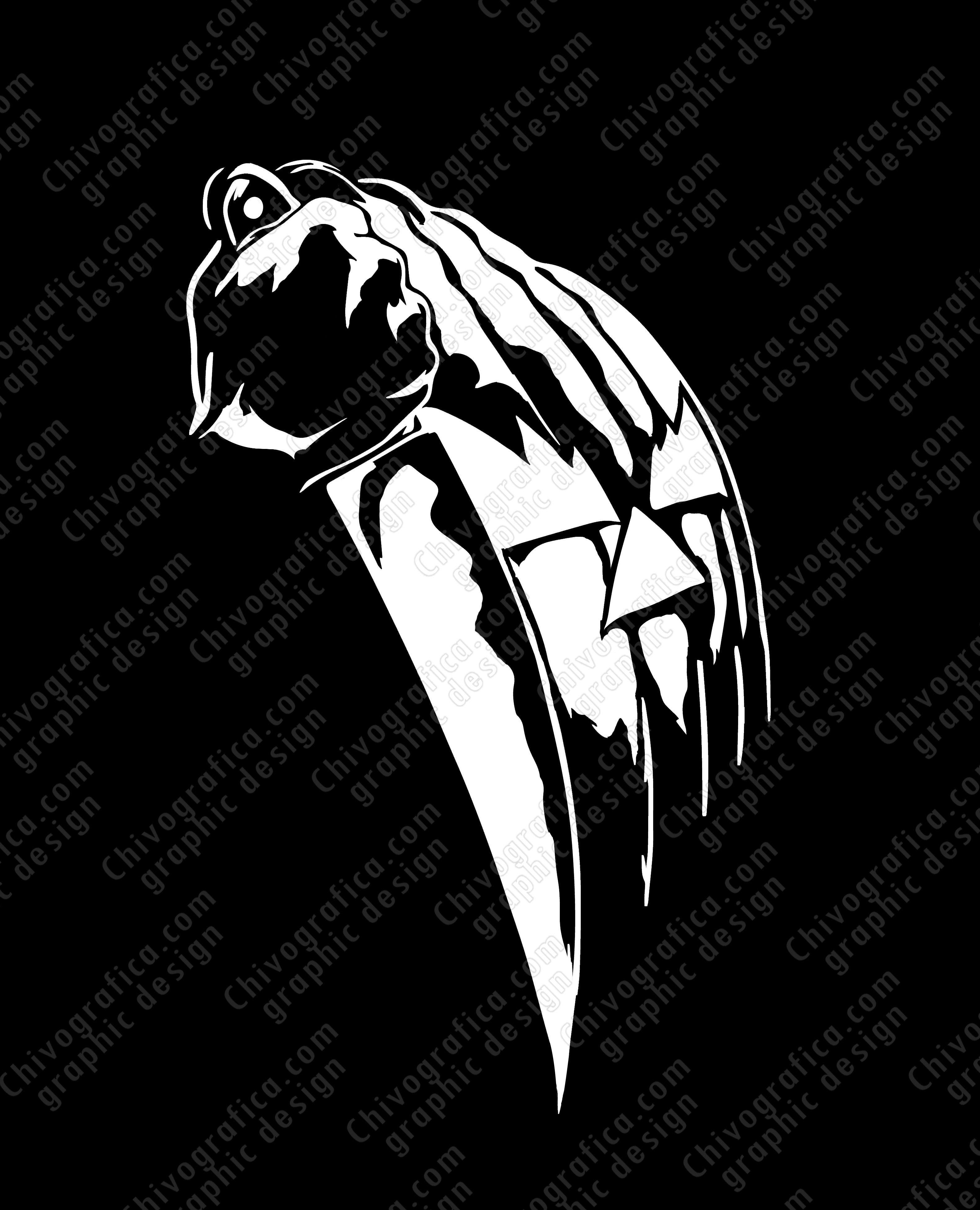 Halloween Michael Myers Horror Movie Decal Vinyl Sticker Michael Myers Art Michael Myers Michael Myers Halloween [ 3900 x 3160 Pixel ]