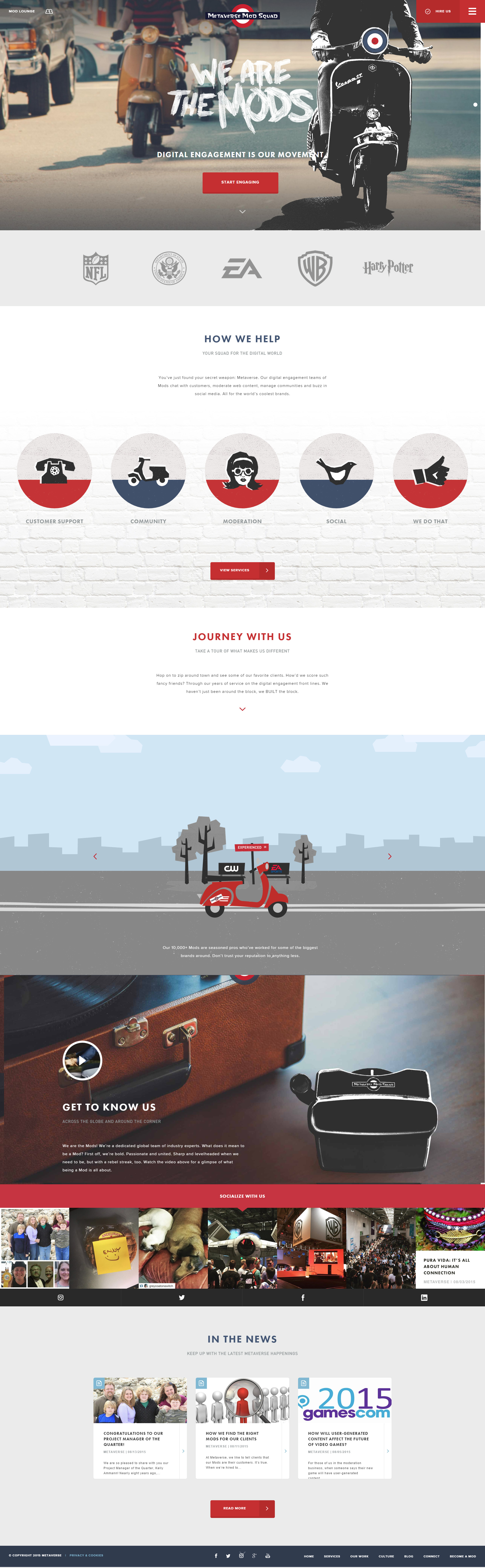 Metaverse Mod Squad Inspirational Web Designs Web Design Web Design Projects Mod Squad