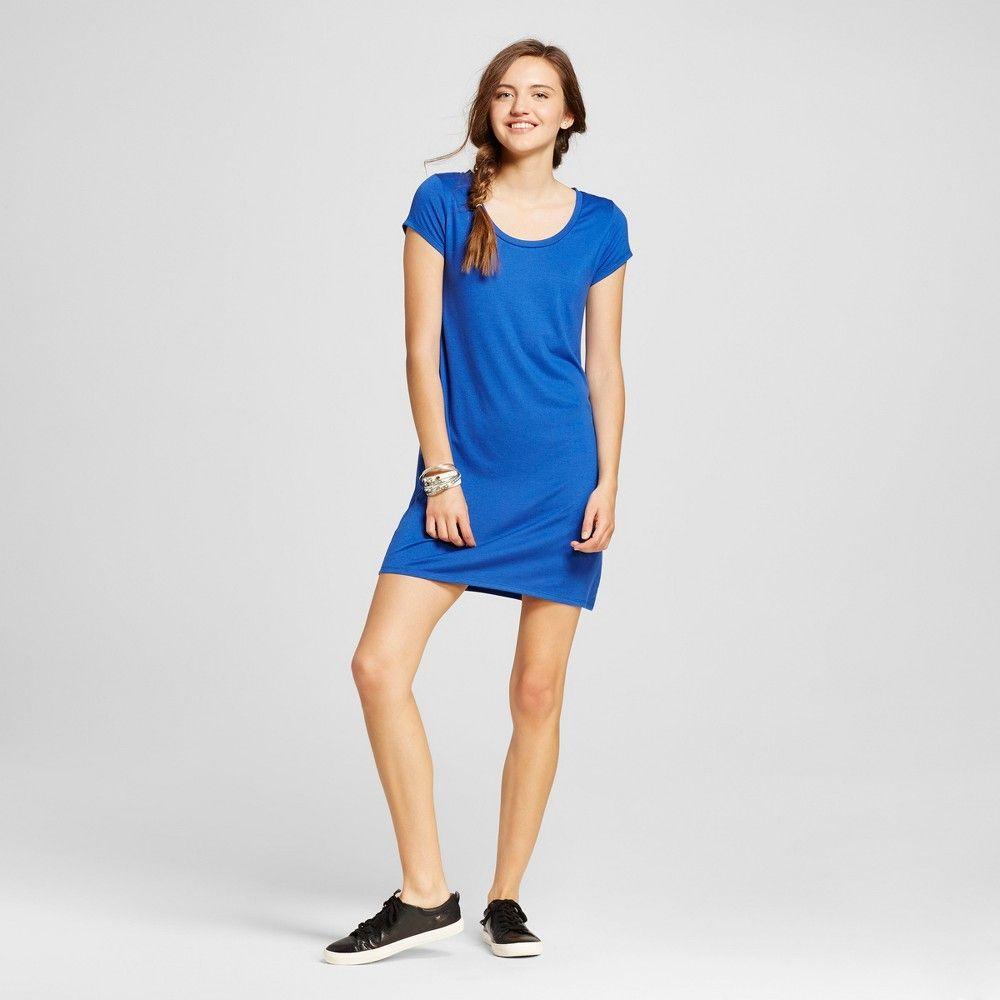 Womenus short tshirt dress coral xxl mossimo supply co juniors