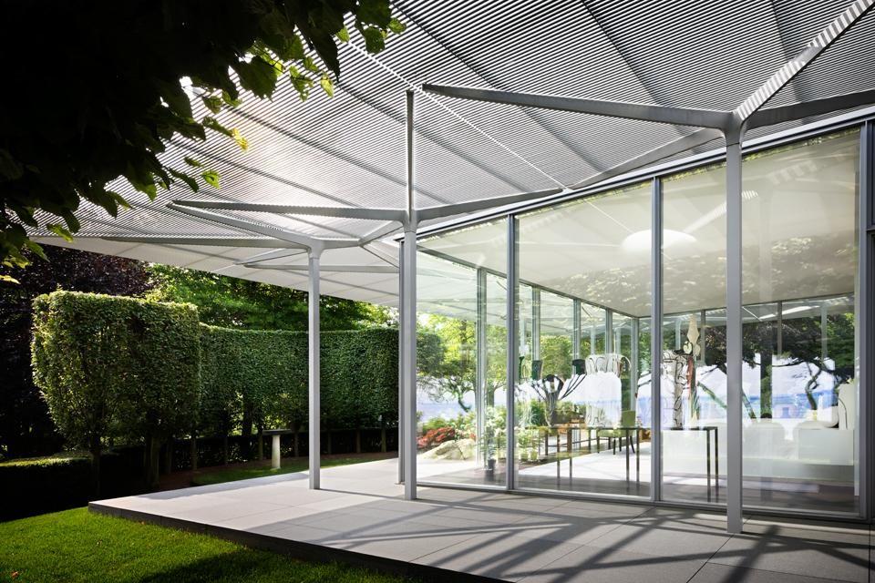 Fishers Island Glass House By Thomas Phifer And Partners Glass House Design Glass House Island House