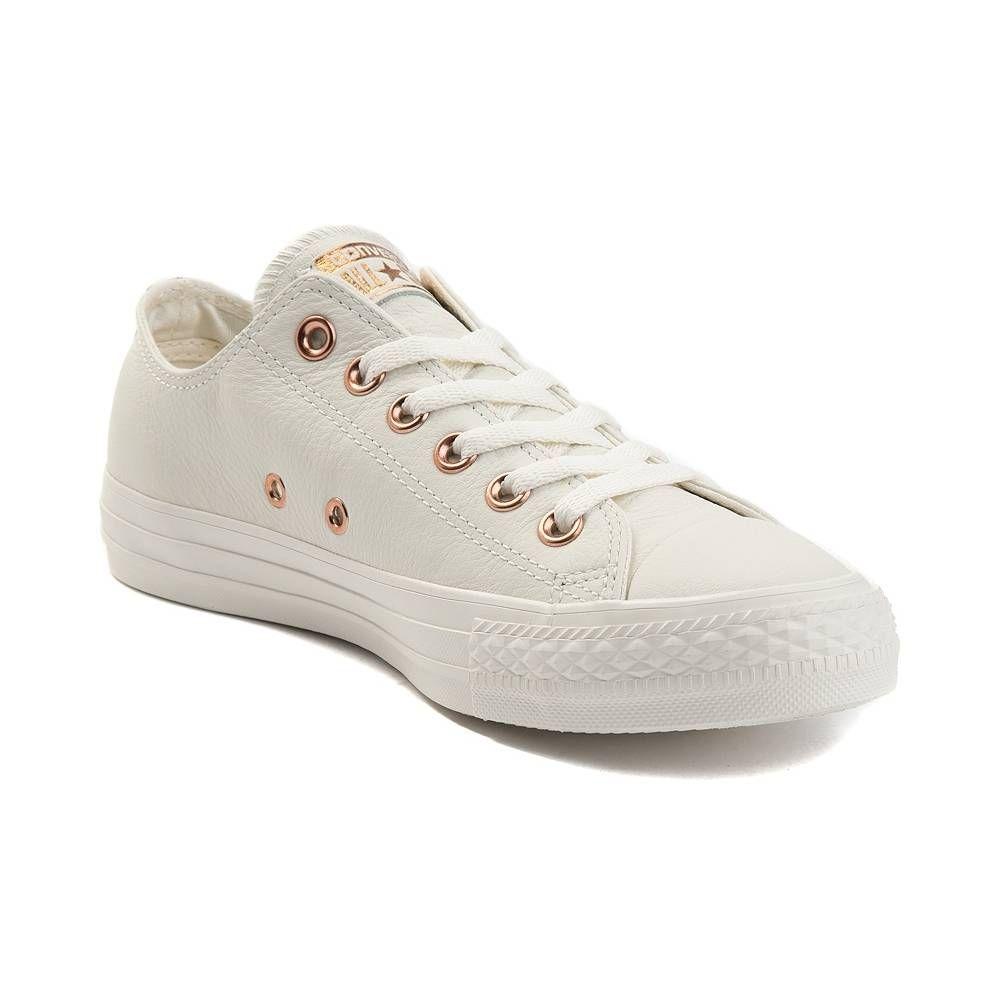 0de82dc0e58a67 Converse Chuck Taylor All Star Lo Lux Leather Sneaker - Nude - 399524