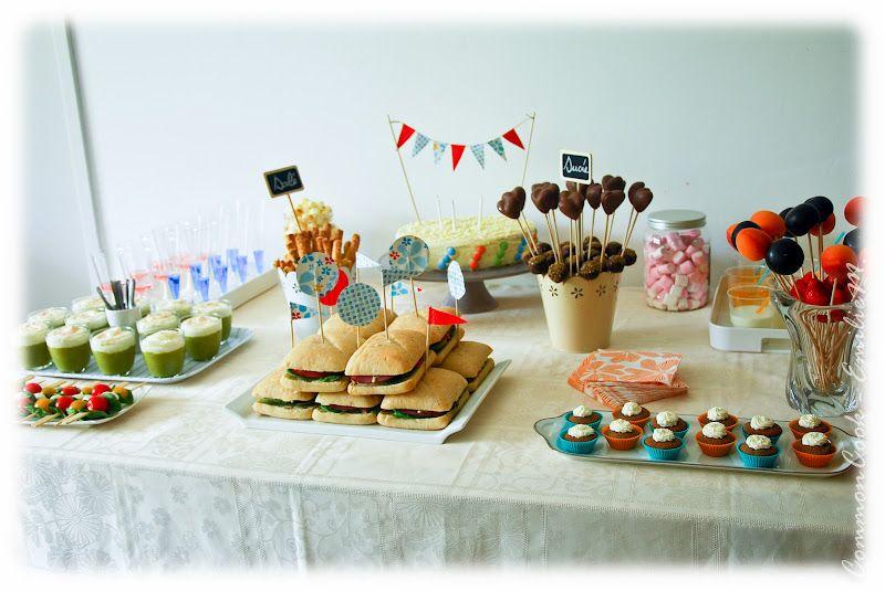 joli buffet d anniversaire recettes cuisiner buffet. Black Bedroom Furniture Sets. Home Design Ideas
