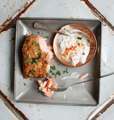 Tandoori Salmon (Yogurt and Spice Marinated Salmon) Recipe - Saveur.com
