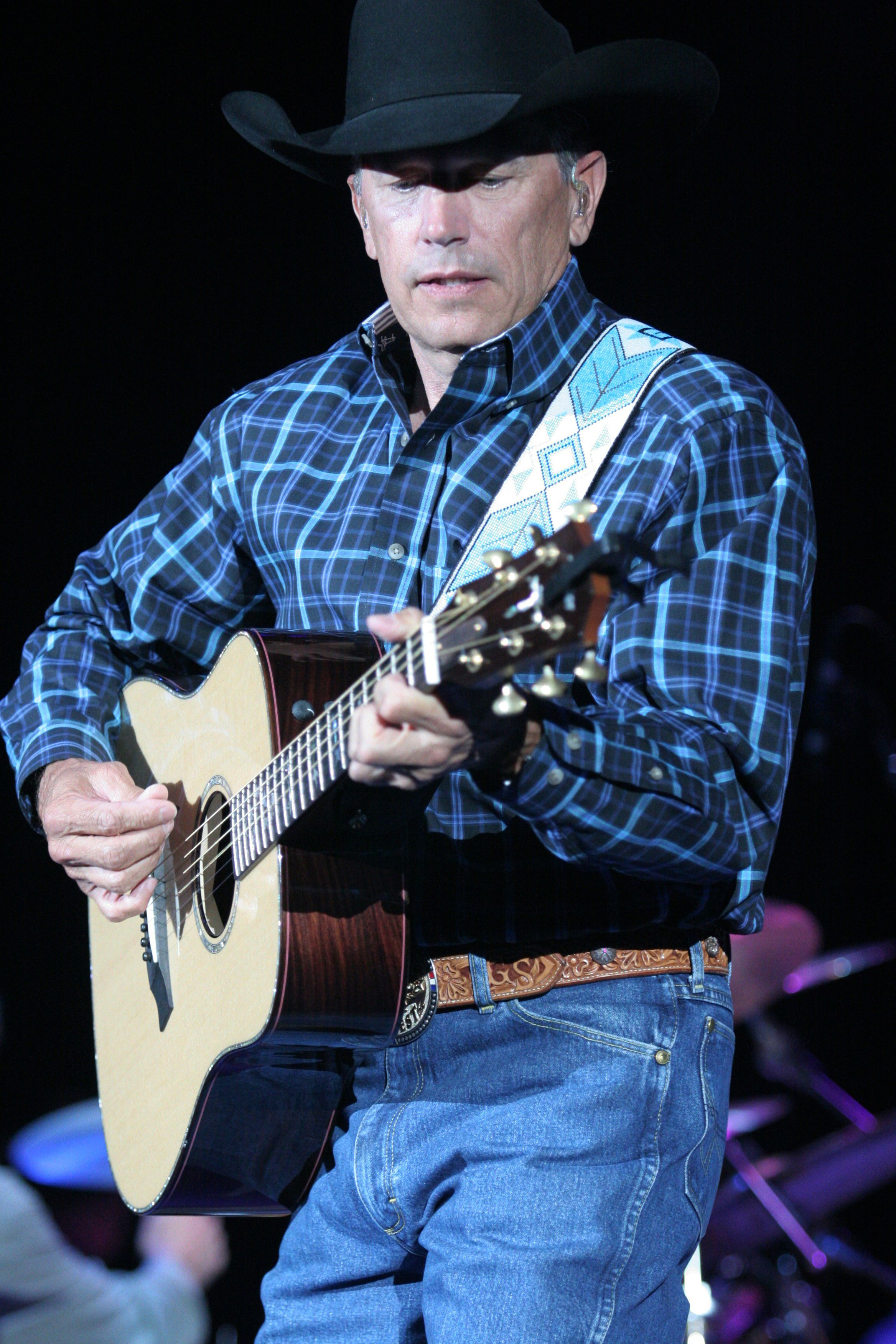 I love my texas texas country singer strait ends