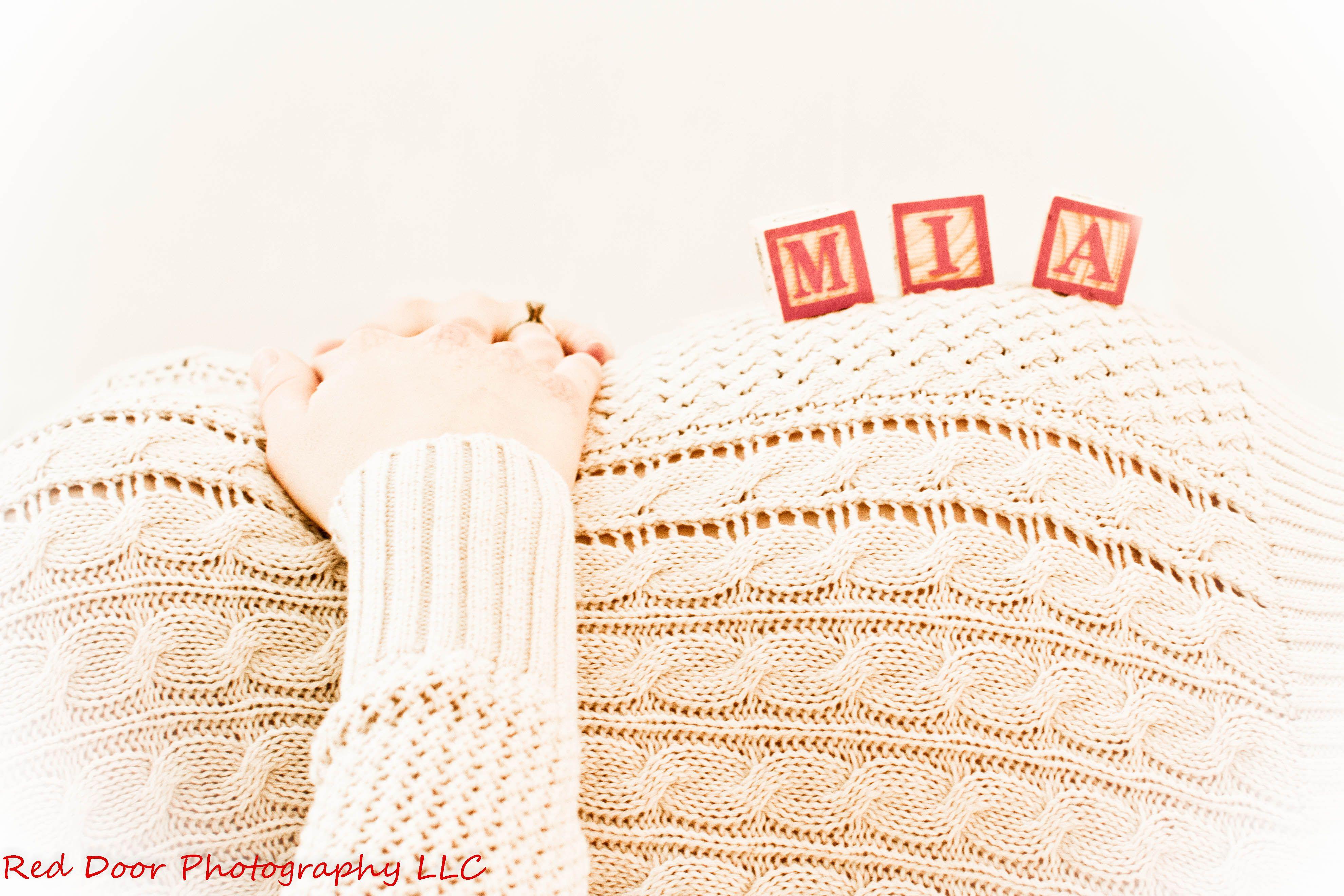 Maternity Photography - Blocks