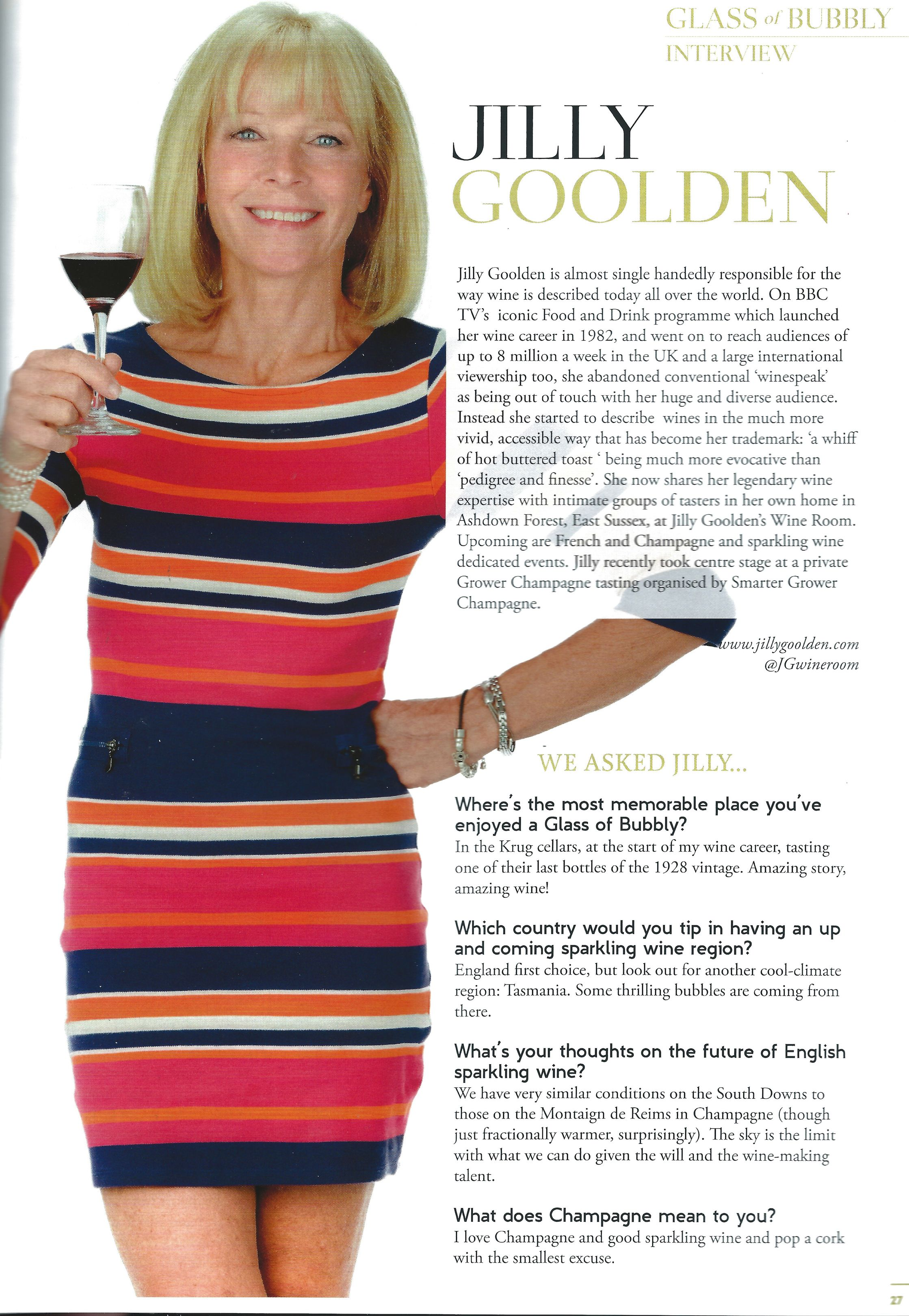 Jilly Goolden Article Recipe Icon Tv Programmes Product Launch